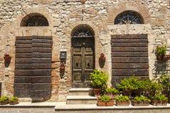 Corciano (Umbria) Royalty Free Stock Photos