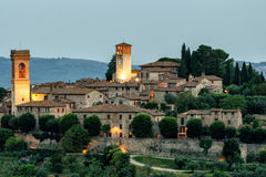 Corciano Umbria scenic view Royalty Free Stock Image