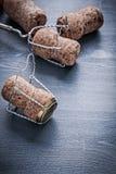 4 corcks шампанского с проводами Стоковые Изображения RF