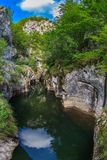 Corcoaia Gorge, Romania Royalty Free Stock Photography