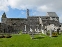 Corcomroe Abbey Burren County Clare Ireland Fotografia de Stock