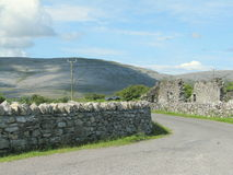 Corcomroe Abbey Burren County Clare Ireland Fotografía de archivo libre de regalías
