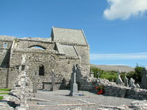 Corcomroe Abbey Burren County Clare Ireland Stock Photo