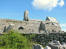 Corcomroe Abbey Burren County Clare Ireland Royalty Free Stock Photos