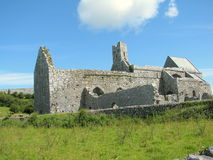 Corcomroe Abbey Burren County Clare Ireland. Corcomroe Abbey is an early 13th-century Cistercian monastery in the north of the Burren region of County Clare Stock Photo
