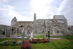 Corcomroe Abbey royalty free stock photos