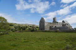 Corcomroe Abbey Ruins Royalty Free Stock Images