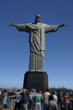 The Corcovado. A famous landmark in Rio de Janiero, Brazil Royalty Free Stock Images