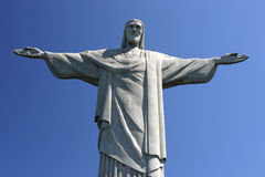 Corcovado. The corcovado a famous landmark in Rio de Janiero, Brazil Stock Images