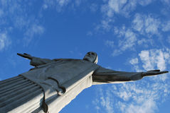 Corcovado Brasile immagine stock