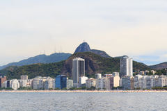 Corcovado Christ the Redeemer Rio de Janeiro Royalty Free Stock Image