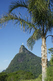 Corcovado Mountain Christ the Redeemer Rio Blue Sky Royalty Free Stock Photo