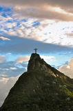 Corcovado Mountain with Christ the Redeemer Stock Image