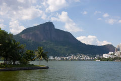 Corcovado Mountain, Rio Stock Photography