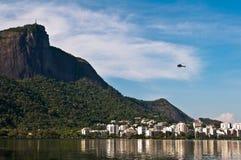 Corcovado Mountain in Rio de Janeiro Royalty Free Stock Image