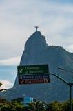 Corcovado Mountain Royalty Free Stock Photo