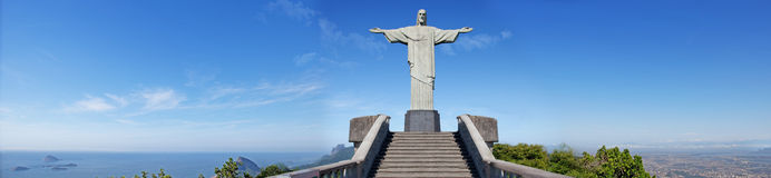 Corcovado Panoramic Stock Photo