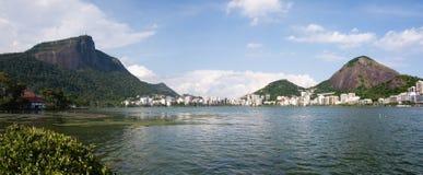 Corcovado in Rio de Janeiro Stock Image