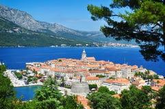 Corcula, Κροατία Στοκ φωτογραφίες με δικαίωμα ελεύθερης χρήσης