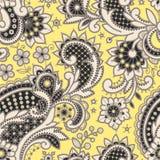 Cordón amarillento Modelo inconsútil stock de ilustración