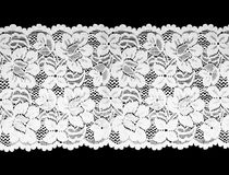 Cordón blanco Fotos de archivo libres de regalías