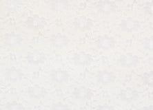 Fondo blanco del cordón Imagenes de archivo