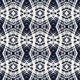 Cordón blanco en modelo geométrico del vector de los azules marinos Imágenes de archivo libres de regalías