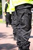 Cordón de la policía foto de archivo libre de regalías
