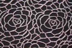 Cordón de las materias textiles Fotos de archivo