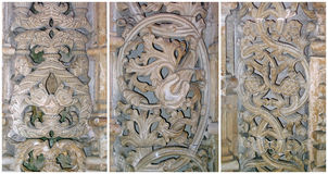 Cordón de piedra de Batalha, Portugal Imagen de archivo