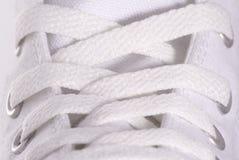 Cordón de zapato Imagenes de archivo