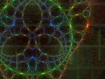 Cordón del fractal Imagen de archivo libre de regalías