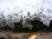 Cordón del hielo Imágenes de archivo libres de regalías