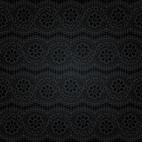 Cordón inconsútil Modelo floral abstracto Imagen de archivo