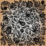 Cordón negro stock de ilustración