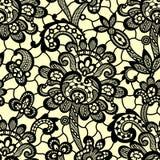 Cordón negro del vector Modelo inconsútil libre illustration