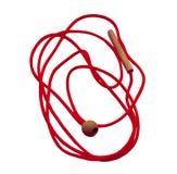 Cordón rojo Imagen de archivo