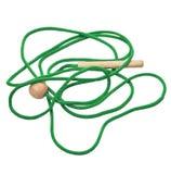 Cordón verde Foto de archivo libre de regalías