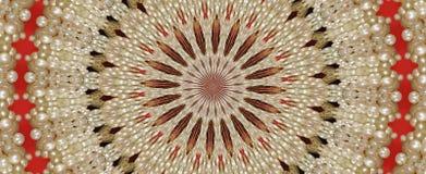 Cordón y perla Imagen de archivo