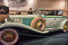 1930 Cord  Cabriolet. 1930 Cord L-29 Cabriolet on display at the  Car Museum, Luray, USA Royalty Free Stock Photos
