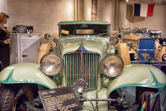 1930 Cord  Cabriolet. 1930 Cord L-29 Cabriolet on display at the  Car Museum, Luray, USA Royalty Free Stock Image