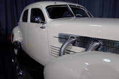Cord 812 Custom Beverly. 1937 model, is on display in a private collection in Bucharest, Romania stock photos