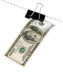 Cord with dollar Royalty Free Stock Photo