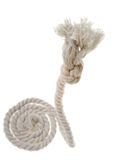 Cord with knot. Stock Photos
