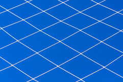 Cord net on blue sky Royalty Free Stock Photo