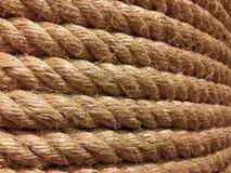 Corda áspera e resistente grande real Fotos de Stock