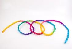 Corda abstrata colorida Imagens de Stock Royalty Free