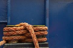 Corda alaranjada Fotografia de Stock