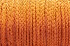 Corda arancione Immagine Stock