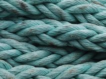 Corda azul Fotos de Stock Royalty Free